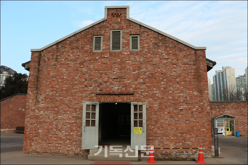 유관순의 최후 거처가 된 서대문형무소의 여성옥사.